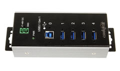 4-Port USB 3.1 Gen1 Industrial High Temperature Hub