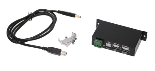 ST4200USBM 2.0 is a Hi-Speed USB 2.0 4-port hub kit
