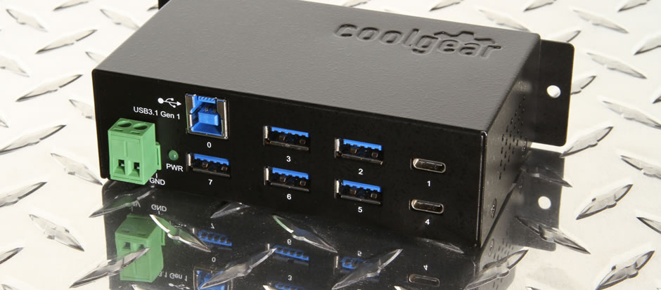USB-C 7 port hub type-c / type-a